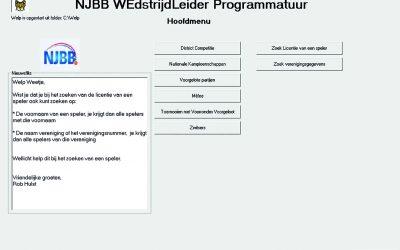 Nieuwe versie Welp online