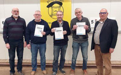 3 regionaal scheidsrechters geslaagd