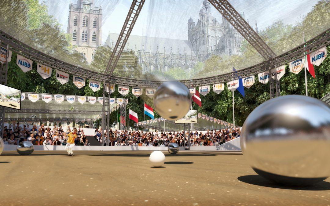 One-year-to-go moment EK Petanque 2022 's-Hertogenbosch